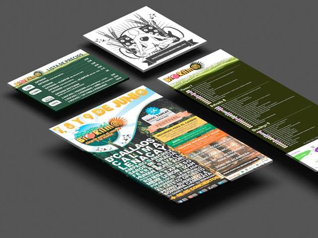Diseño folletos